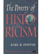 The Poverty of Historicism - POPPER, KARL