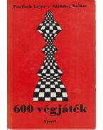 600 végjáték - Portisch Lajos, Sárközy Balázs