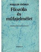 Filozófia és műfajelmélet - Poszler György