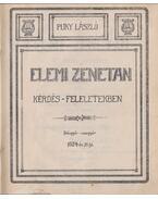 Elemi zenetan - Puky László