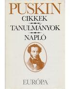 Cikkek / Történelmi tanulmányok / Napló - Puskin, Alekszandr Szergejevics
