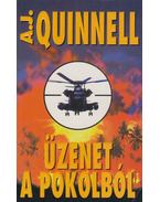 Üzenet a pokolból - Quinnell, A. J.