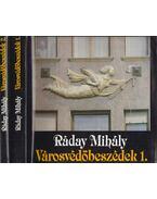 Városvédőbeszédek 1-2. kötet - Ráday Mihály