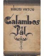 Galambos Pál naplója / Jobbadán Amerikában - Rákosi Viktor