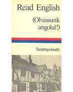 Read English (Olvassunk angolul!) - Dr. Budai László