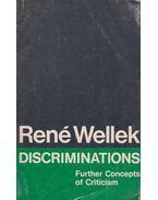 Discriminations - René Wellek