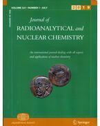 Journal of Radioanalytical and Nuclear Chemistry Volume 321 Number 1 July 2019 - Révay Zsolt, Braun Tibor, Amares Chatt, Bernd Neumaier