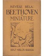Beethoven miniáture - Révész Béla