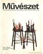 Művészet 1981. február - Rideg Gábor