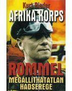 Afrika Korps - Rieder, Kurt