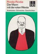 Der Mann mit der roten Weste - RODA RODA