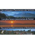 Die schönsten Panoramen der Schweiz/Les plus beaux panoramas de Suisse/The most beautiful panoramas of Switzerland - Rolf Krebs