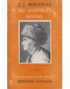 Du Contrat Social - Rousseau, Jean-Jacques