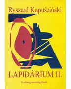 Lapidárium II. - Ryszard Kapuscinski
