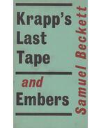 Krapp's last tape / Embers - Samuel Beckett