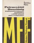 Petrarcától Ossziánig - Sárközy Péter