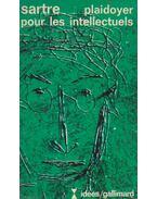 Plaidoyer pour les intellectuels - Sartre, Jean-Paul