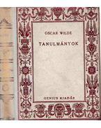 Tanulmányok I-II. kötet (egybekötve) - Oscar Wilde