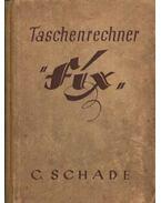 Taschenrechner FIX - Schade, C.