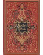 Schiller's Werke I-IV. - Schiller, Friedrich