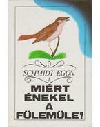 Miért énekel a fülemüle? - Schmidt Egon