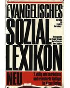 Evangelisches soziallexikon - Schober,Theodor, Honecker,Martin, Dahlhaus,Horst