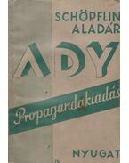 Ady Endre - Schöpflin Aladár
