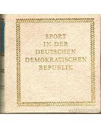 Sport in der Deutschen Demokratischen Republik (mini) - Schubert, Horst