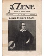 A Zene XVII. évfolyam 8. 9. 10. szám 1936 február 15. - Siklós Albert