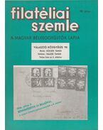 Filatéliai szemle 1990. július - Simon Gy. Ferenc