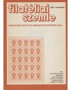 Filatéliai szemle 1991. november - Simon Gy. Ferenc