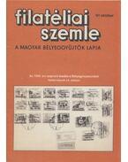 Filatéliai szemle 1991. október - Simon Gy. Ferenc