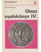 Olasz nyelvkönyv a gimnázium IV. osztálya számára - Simon Gyula
