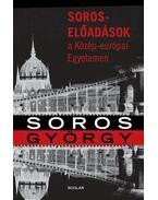 Soros-előadások a Közép-európai Egyetemen - Soros György