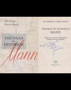 Thomas és Heinrich Mann (Sós Endre által dedikált) - Sós Endre, Vámos Magda