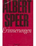 Erinnerungen - Speer, Albert