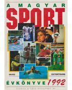 A magyar sport évkönyve 1992 (dedikált) - Harle Tamás, Ládonyi László