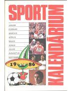 Sport Kalendárium 1986 - Z. Vincze György