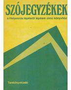 Helyesírási szójegyzék - Stenczer Ferenc
