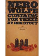 Nero Wolfe- Curtains for three - Stout, Rex