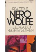 Nero Wolfe – The League of Frightened Men - Stout, Rex