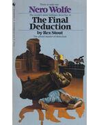 The Final Deduction - Stout, Rex