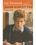 Journal secret d'Adrien 13 ans 3/4 - Sue Townsend