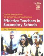 Effective Teachers in Secondary Schools - SWAINSTON, TONY