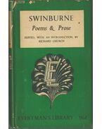 Poems and Prose - SWINBURNE, ALGERNON CHARLES