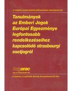 Tanulmányok az Emberi Jogok Európai Egyezménye legfontosabb rendelkezéseihez kapcsolódó strasbourgi esetjogról - Szabó Győző, Nagy Gábor