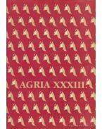 Agria XXXIII. - Szabó J. József (szerk.), Petercsák Tivadar