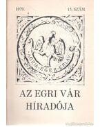 Az Egri Vár Híradója  1979. 15. szám - Szabó János Győző