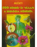 500 kérdés és válasz a biológia köréből - Szabó Zoltán