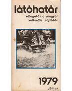 Látóhatár 1979. Június - Szabolcsi Miklós